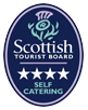Visit Scotland Tourist Board 4 Star Badge